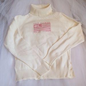 Polo cream sweater